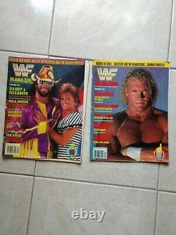 40 Wwf Magazine Collection 1990-1996 Bret Hart, Shawn Michaels, The Undertaker