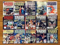 45 Jeux Électroniques Magazines Mensuels Egm Lot No 1-6, 8-28, 30-38, 42-50 Extras