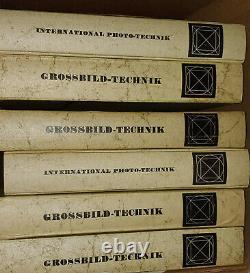 59 Numéros Grossbild Technik Linhof Schneider Zeiss Sinar 6 Liants +12 1956-71
