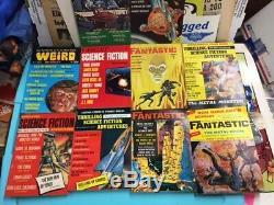 60s Beaucoup De 100 Histoires Fantastiques Imagination Magazines De Science-fiction De Pâte Nm Beaucoup De Concessionnaires