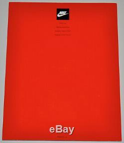 90 Vintage 1990 Nike Rapport Annuel Magazine Catalogue Michael Jordan Andre Agassi