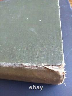 A Guide To Modern Cookery Par A. Escoffier 1907 1ère Édition Rare Vieux Livre De Cuisine