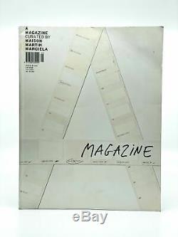 A Magazine # 1 Par Curated Maison Martin Margiela / Première Édition 2004