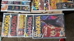 Affiche De Couverture Pour Godzilla De Fangoria # 1 Magazine Classic Christopher Lee Alien