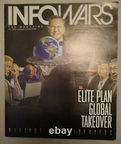 Alex Jones Infowars Magazine 1er 13 Questions Rare Trump Complète Rogan Conspiracy