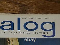 Analog Magazine Décembre 1963 Et Janvier 1965. 1er Dune Du Monde Par Frank Herbert. Rare Sci-fi