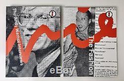 Andy Warhol Interview Le Complete Set 7 Volume 1ère Édition Par 7l