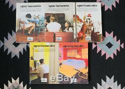 Apartamento Magazine Lot De Cinq Premiers Numéros 3, 6, 7, 9, 11 Tres Rare