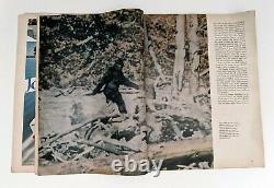 Argosy Magazine Abominable Snowman Bigfoot Sasquatch Février 1968 Légendaire