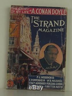 Arthur Conan Doyle L'histoire De Ma Vie Première Édition Magazine Volet