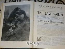 Arthur Conan Doyle Le Monde Perdu 1ère Édition 2ème Semestre 1912 Strand Magazine