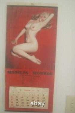 Authentique Original Première Impression Playboy 1ère Édition Marilyn Monroe Décembre 1953