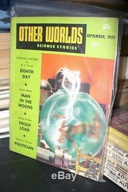 Autres Mondes Histoires De Science Us Digèrent 1949-1955 18 Questions