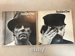Avalanche Magazine Lot Of 6 Issues (1970-73) Très Rare