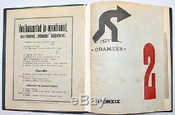 Avant-garde Couvre Le Magazine Peet Aren Odamees 1919 Abonnement Annuel Estonie