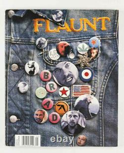 Banksy Radar Rat Stencil + Interview Dans Flaunt Magazine 30 Déc. 2001 Janvier 2002