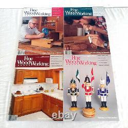 Beaux Magazines De Menuiserie Numéros 50-85 Complet Dans L'ordre Vintage 1985-1990