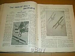 Biggles. W E Johns. Populaire Magazine Vol. 1932-1933. Volume 1. Tout D'abord 12 Questions
