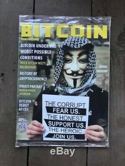Bitcoin Magazine Numéro 1 Mai 2012 Première Édition Originale Dans Son Emballage D'origine
