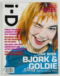 Bjork Goldie John Galliano Underworld Trainspotting Revue I-d 1996 Juillet # 154