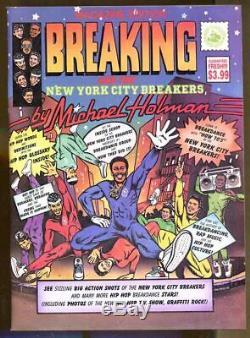Briser Et Le New York City Breakers Par Michael Holman-1984-hip Hop-scarce