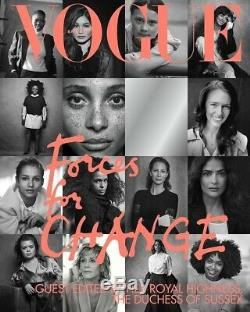 British Vogue Uk Magazine Septembre 2019 Meghan Markle Duchess Sussex Brand New