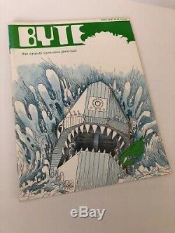Byte Magazine Numéros 1 16 1975 Et 1977 Volume 2 11 Numéros