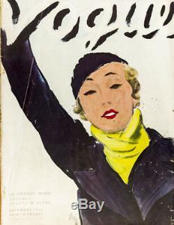 Carl Erickson Horst René-bouet Willaumez Schiaparelli Vogue Paris Décembre 1932
