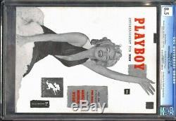 Cgc 8.5 Original # 1 Playboy (décembre 1953) Marilyn Monroe Couverture Et Intérieur