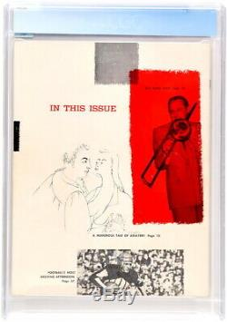 Cgc 9.0 Red Star (la Plus Rare) Playboy # 1 (décembre 1953) Hugh Hefner / Marilyn Monroe
