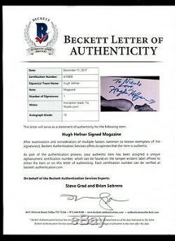 Cgc 9.2 Hugh Hefner Signé # 1 Playboy Reprint Auto Graded 10,0 Beckett # A10808