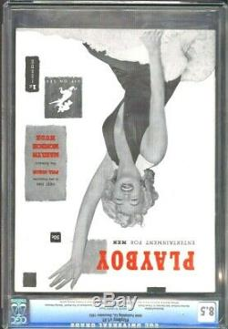 Cgc Universal Année 8.5 # 1 Playboy (décembre 1953) Marilyn Monroe & In