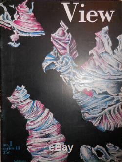 Charles Henri Ford Art / Voir Magazine Décembre 1943 Série III No 1 1ère Édition