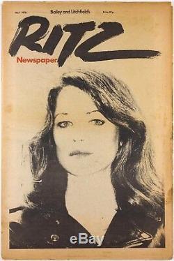 Charlotte Rampling Seditionaries Vivienne Westwood Bill Gibb Ritz Magazine N ° 1