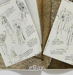 Christian Bérard Carl Erickson Knitting Vogue Paris Lucien Lelong Décembre 1939