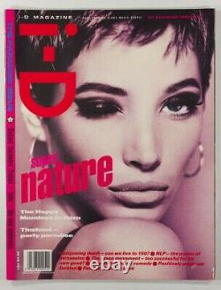 Christy Turlington Juergen Teller Happy Mondays Soho I-d Magazine 83 Août 1990