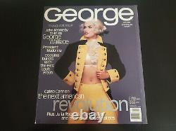 Cindy Crawford Cover George Magazine Jfk Jr. Oct/nov 1995 Magazine Nm/mint