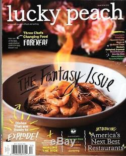 Collection Chanceux Peach Magazine Numéro 10-17 David Chang Chris Ying 2014-2015 Nouveau