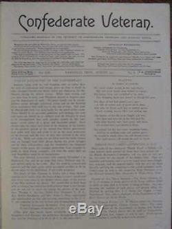 Collection De Magazines De Vétérans Confédérés De 828 Magazines Anciens Originaux