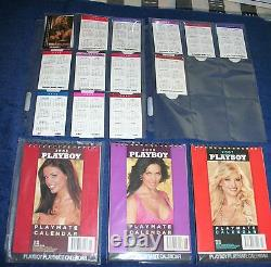 Complete Collection Playboy Avec Numéro 1st Signée Par Hugh Hefner Withcoa