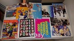 Complete Nintendo Power Magazine Lot Numéros 1-285! Ouf! Avec Extra Posters