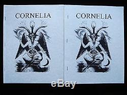 Cornelia Magazine J Edward Cornelius Questions 1-9 Oto Thélème A. A. Crowley Occultes