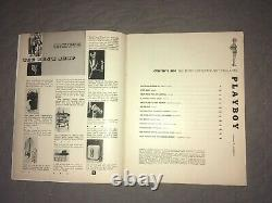 D'origine Playboy Décembre 1953, Marilyn Monroe, 1 Er Numéro, Hugh Hefner, Propre