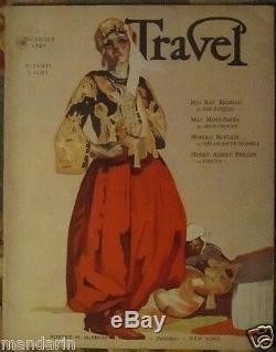 Dec 1929travel Magazineliving Jewels De Hawaiian Seasdon Blanding'shawaii