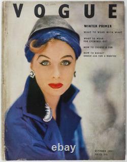 Dior Irving Penn Norman Parkinson Balenciaga Horst John Deakin Vogue Uk Octobre 1952