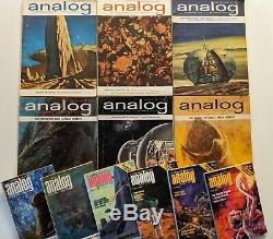 Dune Complete Set Frank Herbert Analog Science Fiction Vg + 1963 64 65 76