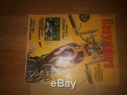 Easy Rider Magazine Première Édition. Juin 1971 2 Agrafes Dans Un Classeur Preuve De L'original