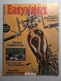 Easyriders Magazine # 1 Numéro Juin 1971 Deux 1 Original Staples Supermanequin