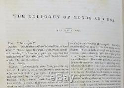 Edgar Allan Poe Magazine Graham's Lady Et Gentleman's Première Édition