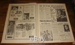Enregistrement Miroir 9 Février 1963 Le 1er Beatles Avant Paper National Music Cover